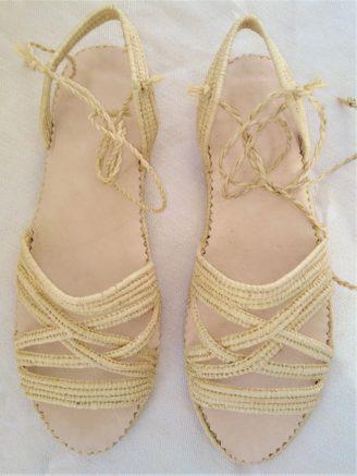 Chaussure Raphia Athenes