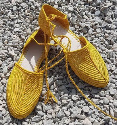 Chaussure Raphia Palm Beach