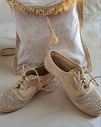 Chaussure Raphia Essaouira