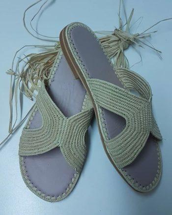 Chaussure Raphia Santorin
