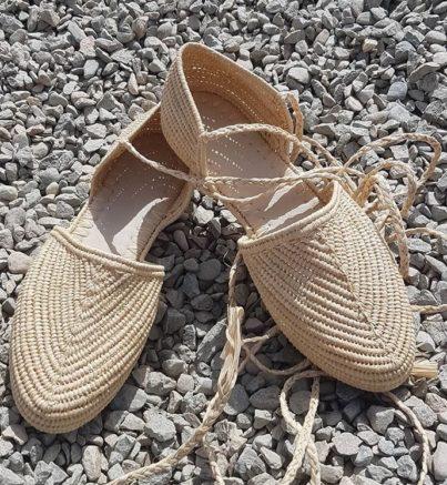 Chaussure Raphia Venise