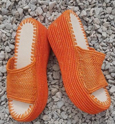 Chaussure Raphia Las Palmas