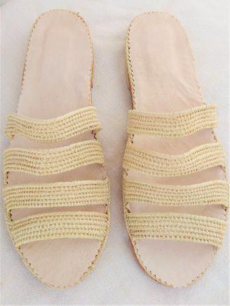 Chaussure Raphia Miami
