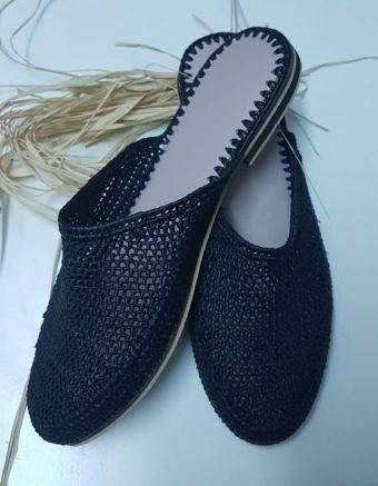 Chaussure Raphia Cap vert