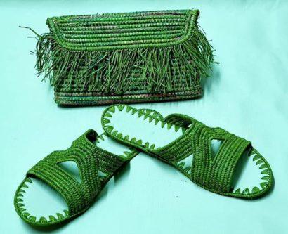 Chaussure Raphia Hawai