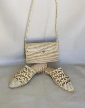 Chaussure Raphia Sydney