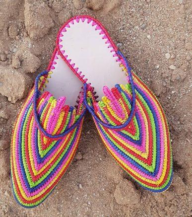 Chaussure Raphia Cuba