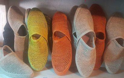 Chaussure Raphia Ksamil