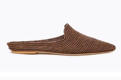 Chaussure Raphia Marrakech