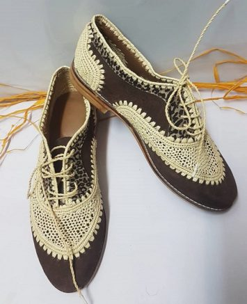 Chaussure Raphia Djerba
