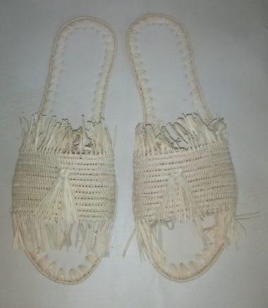 Chaussure Raphia Papeete