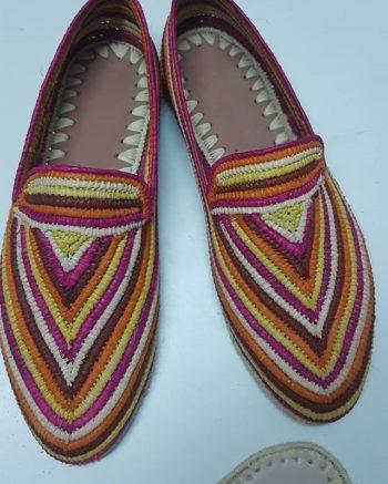 Chaussure Raphia Macao