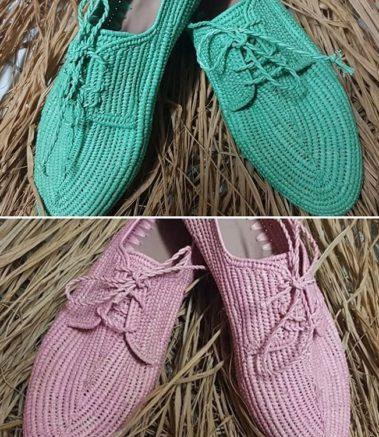 Chaussure Raphia Budva