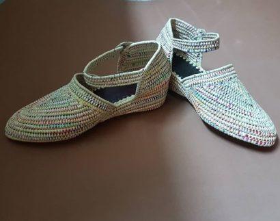 Chaussure Raphia St Trop